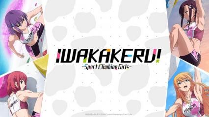 Iwa Kakeru!: Sport Climbing Girls