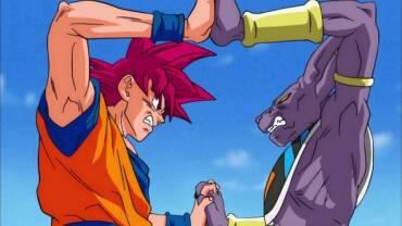 ¡Continuemos, Beerus-sama! ¡La batalla de los dioses!