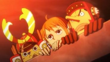 ¡La baza de Kaido! ¡Aparecen los Tobi Roppo!