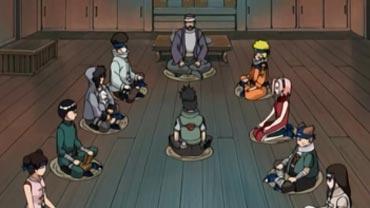 ¡Problemas! ¡Los once de Konoha se reúnen!